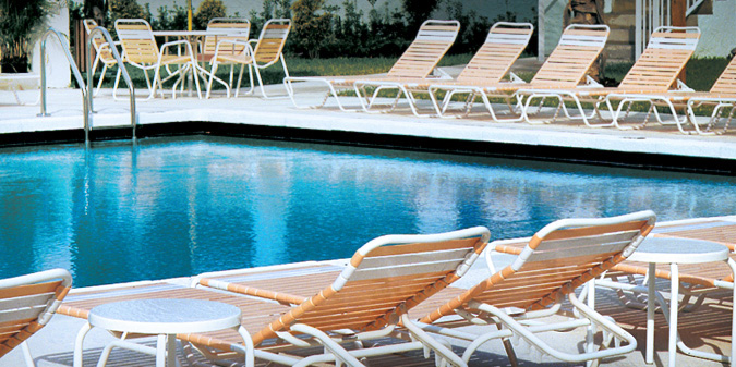 Strap Pool Furniture Refinished Patio ...